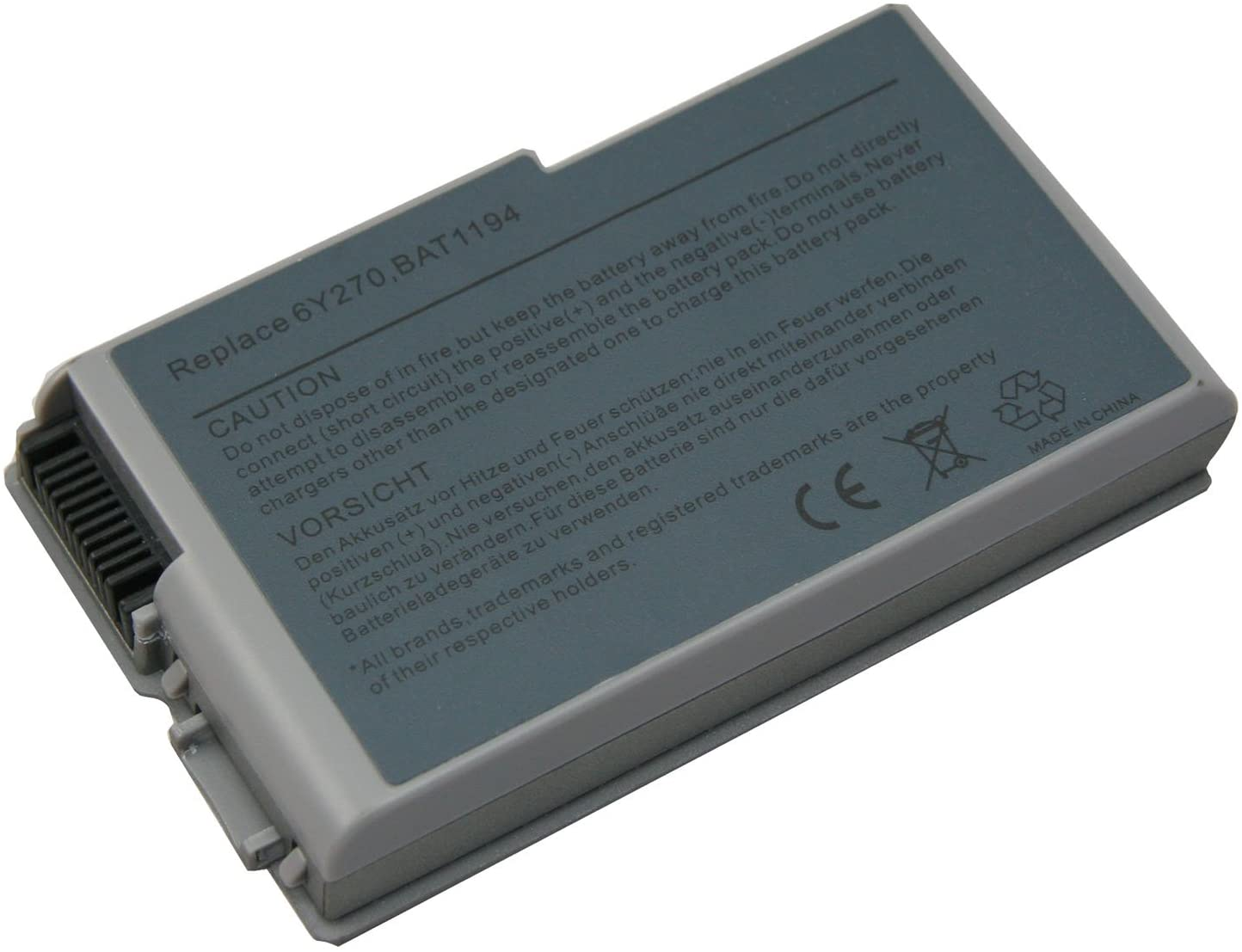 Battery For Dell D600 Series