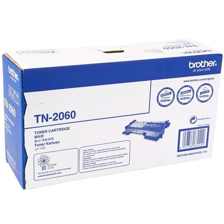 Brother toner cartridge TN2060 BLACK