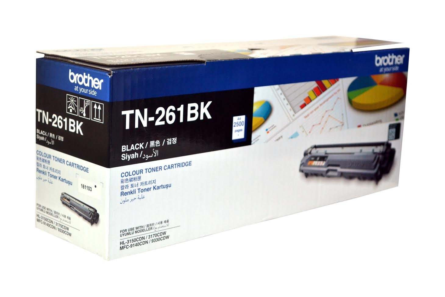Brother toner cartridge TN261 BLACK
