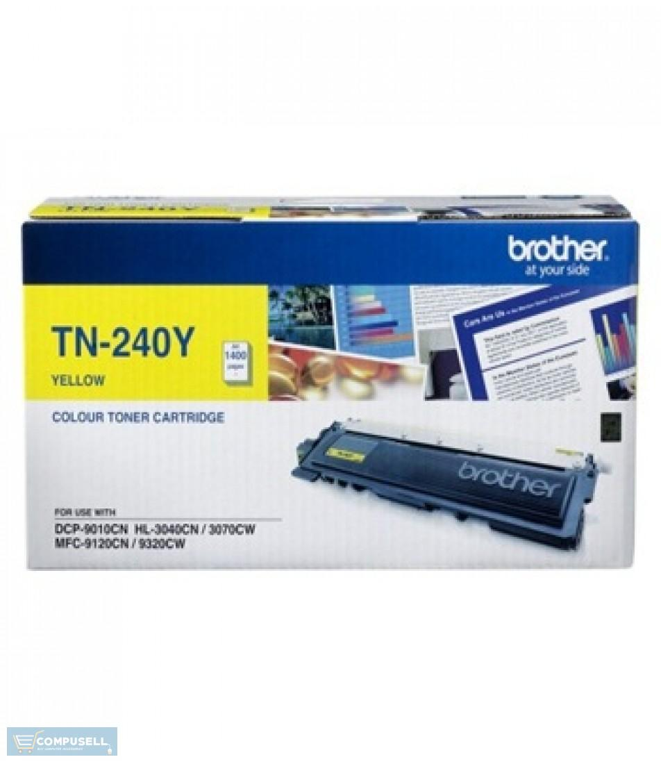 Brother toner cartridge TN240 YELLOW