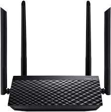 ASUS Wireless-AC1200 Dual-Band Wi-Fi Router with four antennas and Parental Control
